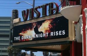 The Dark Knight Rises at the Vista Theatre in LA