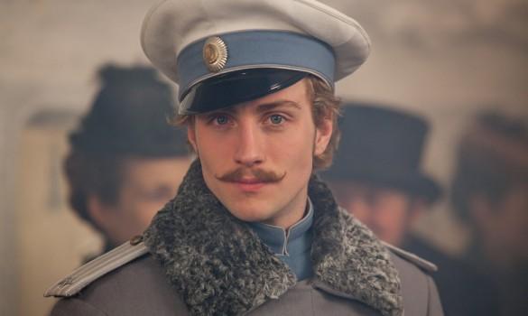 Aaron Taylor Johnson in Anna Karenina
