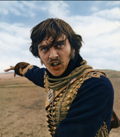 David Hemmings in Charge of the Light Brigade